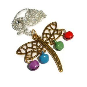 Dragonfly Necklace Holiday Dragonfly necklace